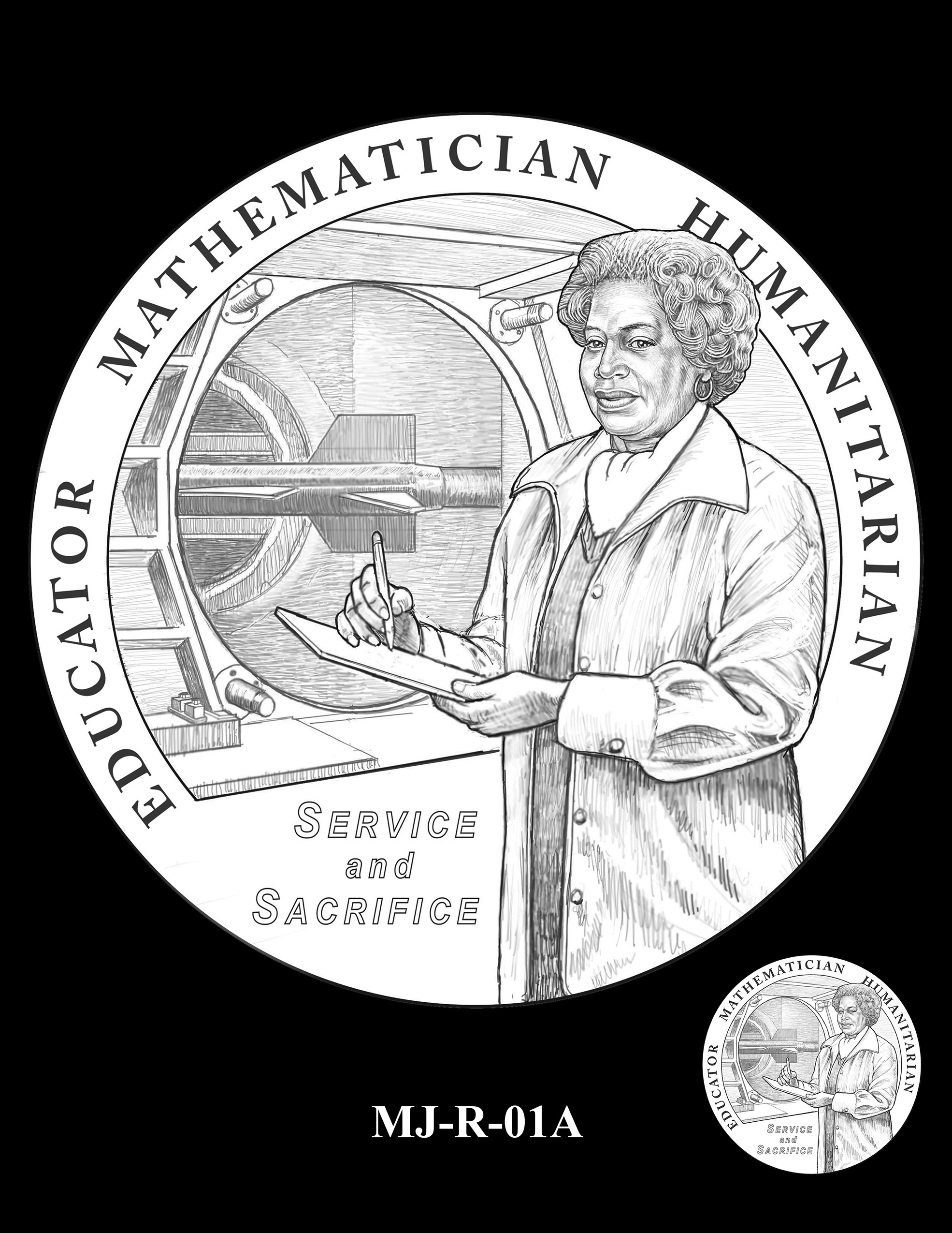 MJ-R-01A -- Mary W. Jackson Congressional Gold Medal