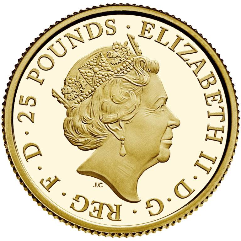 UK Gold Coin Obverse