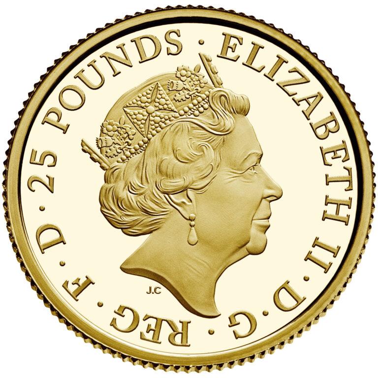 U.K. Gold Coin Obverse