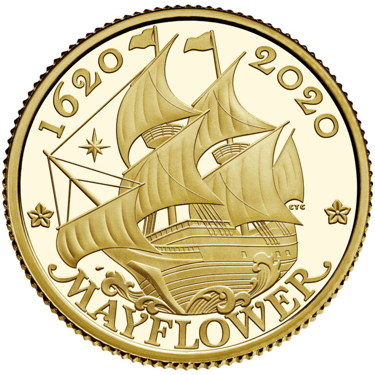 UK Gold Coin Reverse