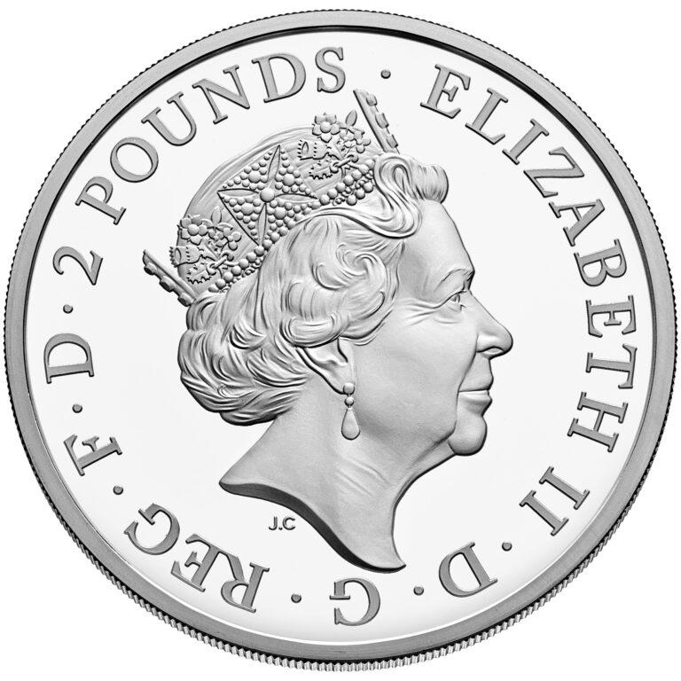 U.K. Silver Coin Obverse