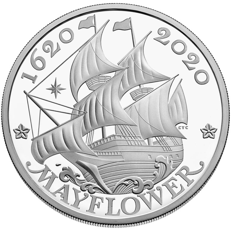 UK Silver Coin Reverse