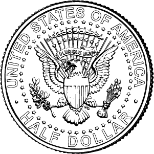 2020 half dollar reverse coloring page icon