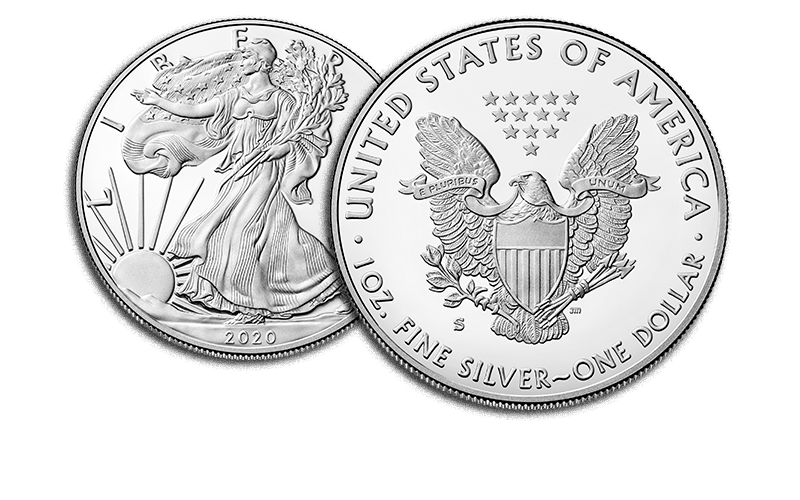 american eagle silver proof san francisco obverse and reverse