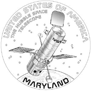 American Innovation Maryland Reverse Coloring Page Icon