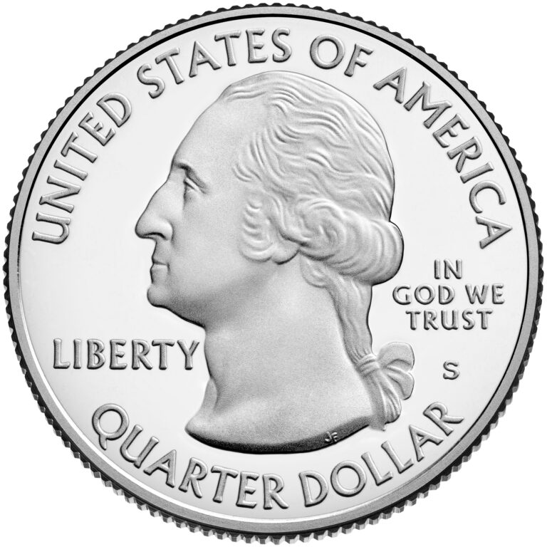 2021 America the Beautiful Quarters Coin Proof Obverse
