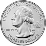 2021 America the Beautiful Quarters Coin Uncirculated Obverse Philadelphia