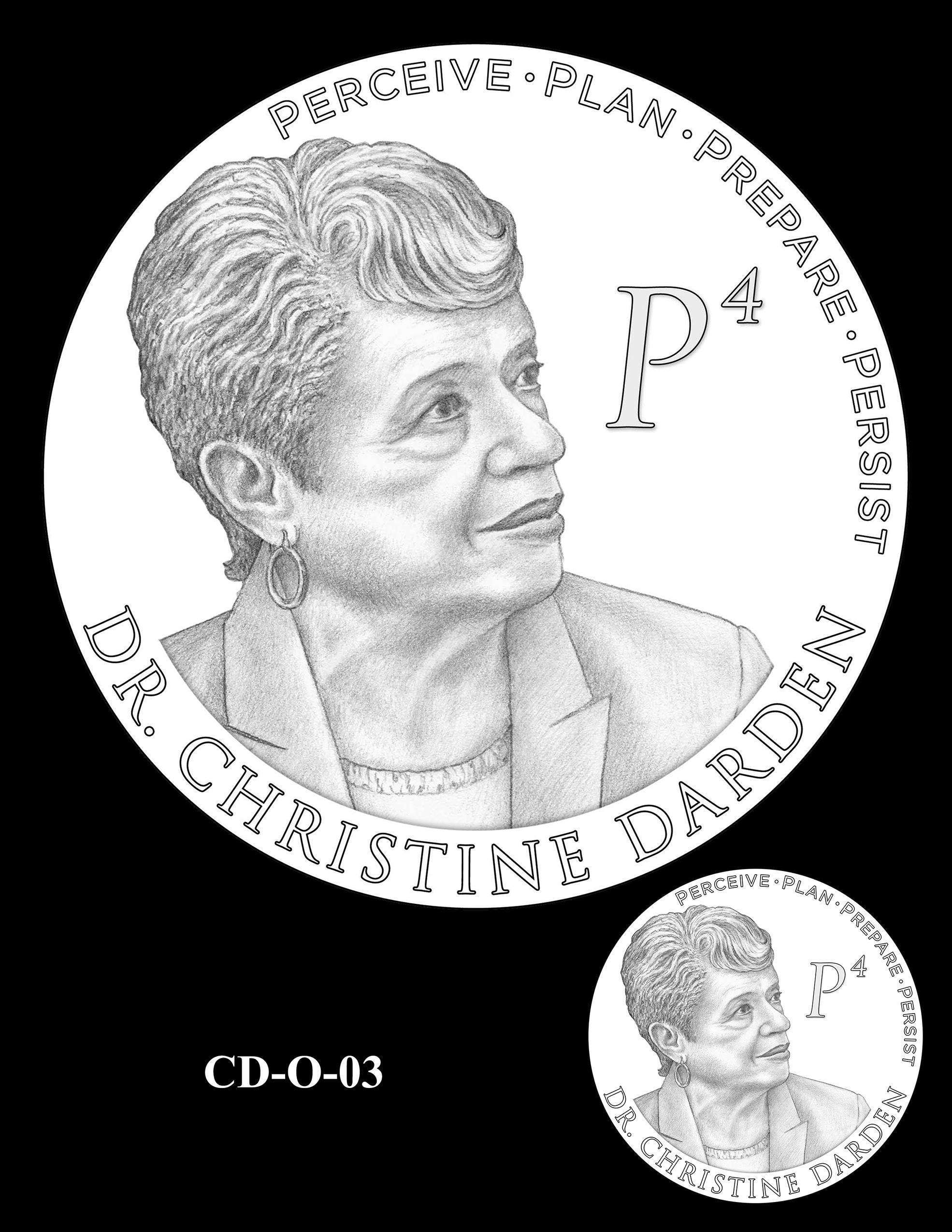 CD-O-03 -- Dr. Christine Darden Congressional Gold Medal