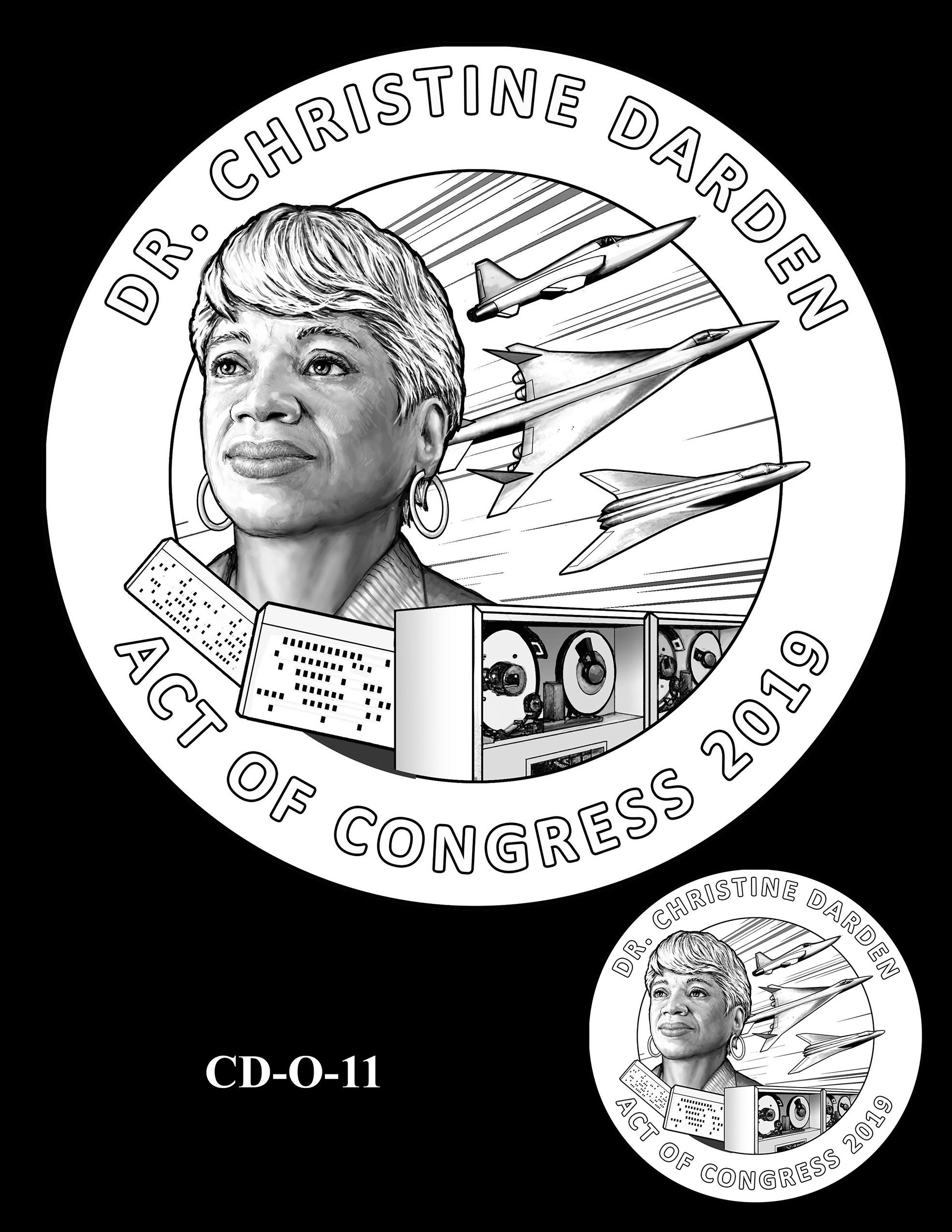 CD-O-11 -- Dr. Christine Darden Congressional Gold Medal
