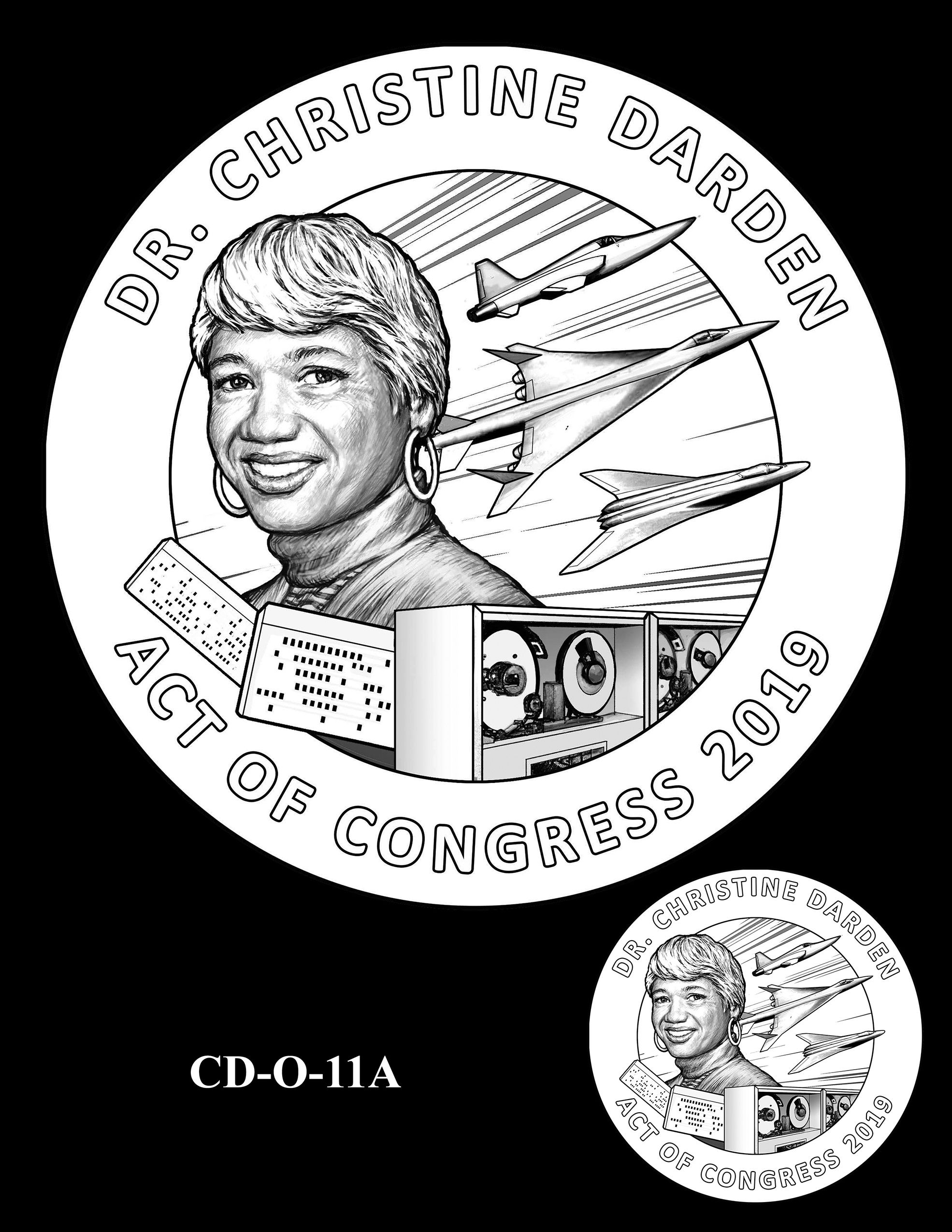 CD-O-11A -- Dr. Christine Darden Congressional Gold Medal
