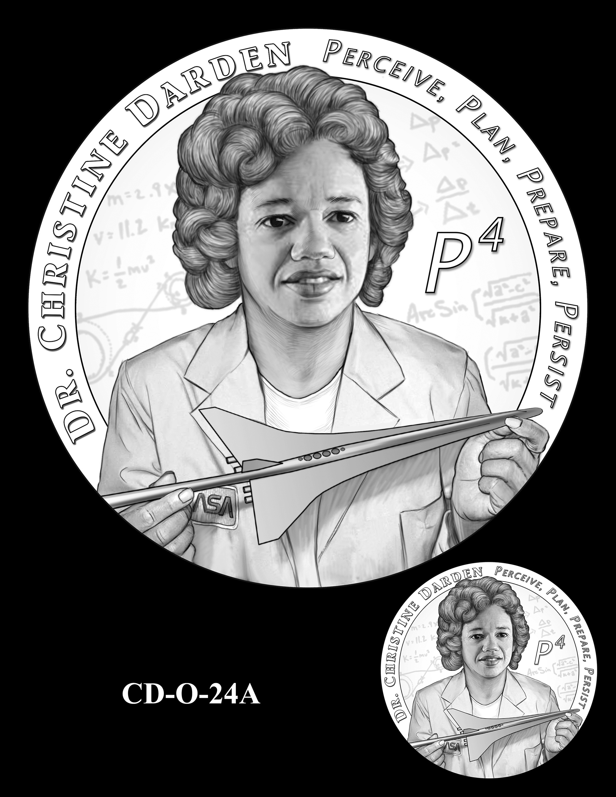 CD-O-24A -- Dr. Christine Darden Congressional Gold Medal