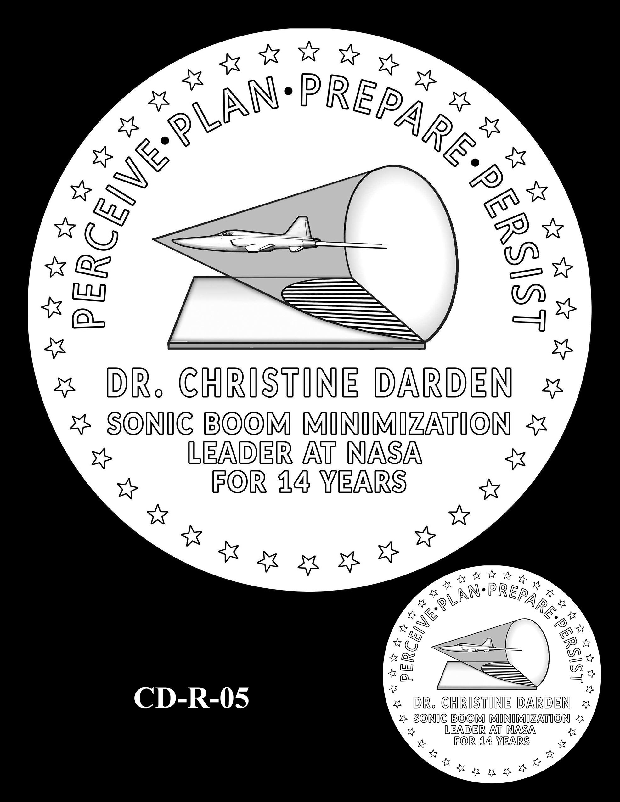 CD-R-05 -- Dr. Christine Darden Congressional Gold Medal