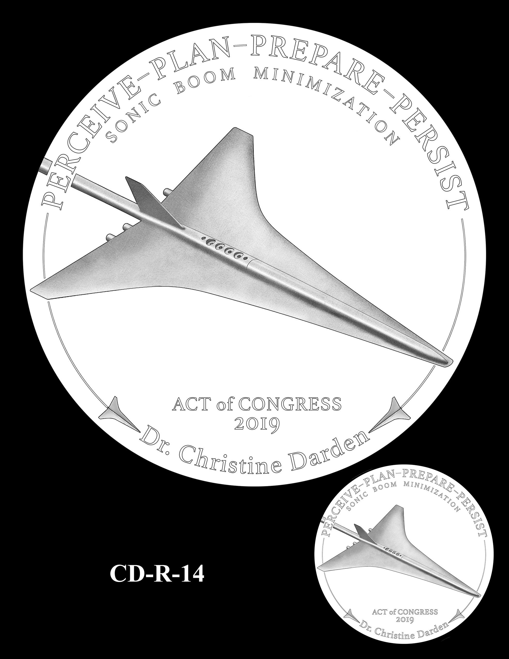 CD-R-14 -- Dr. Christine Darden Congressional Gold Medal