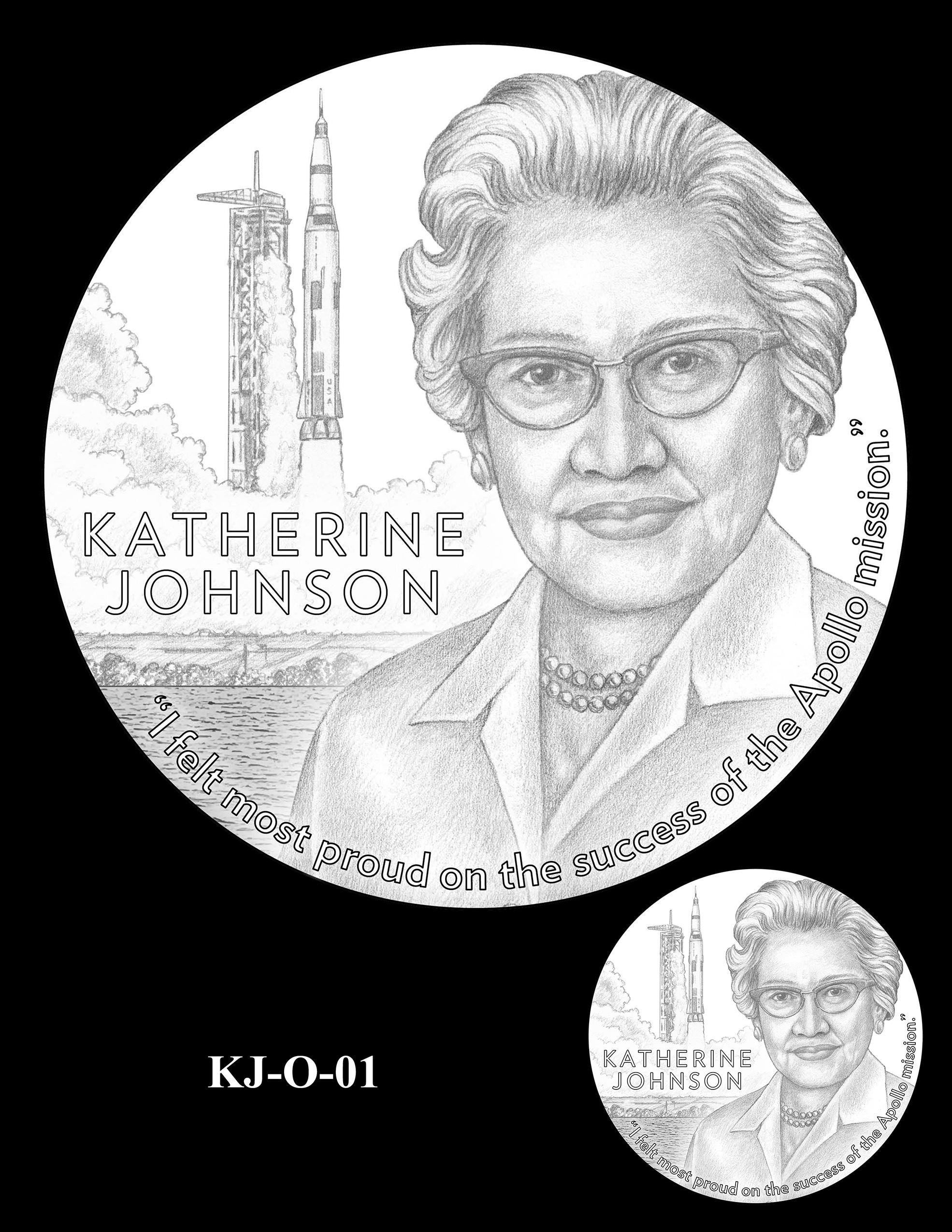 KJ-O-01 -- Katherine Johnson Congressional Gold Medal