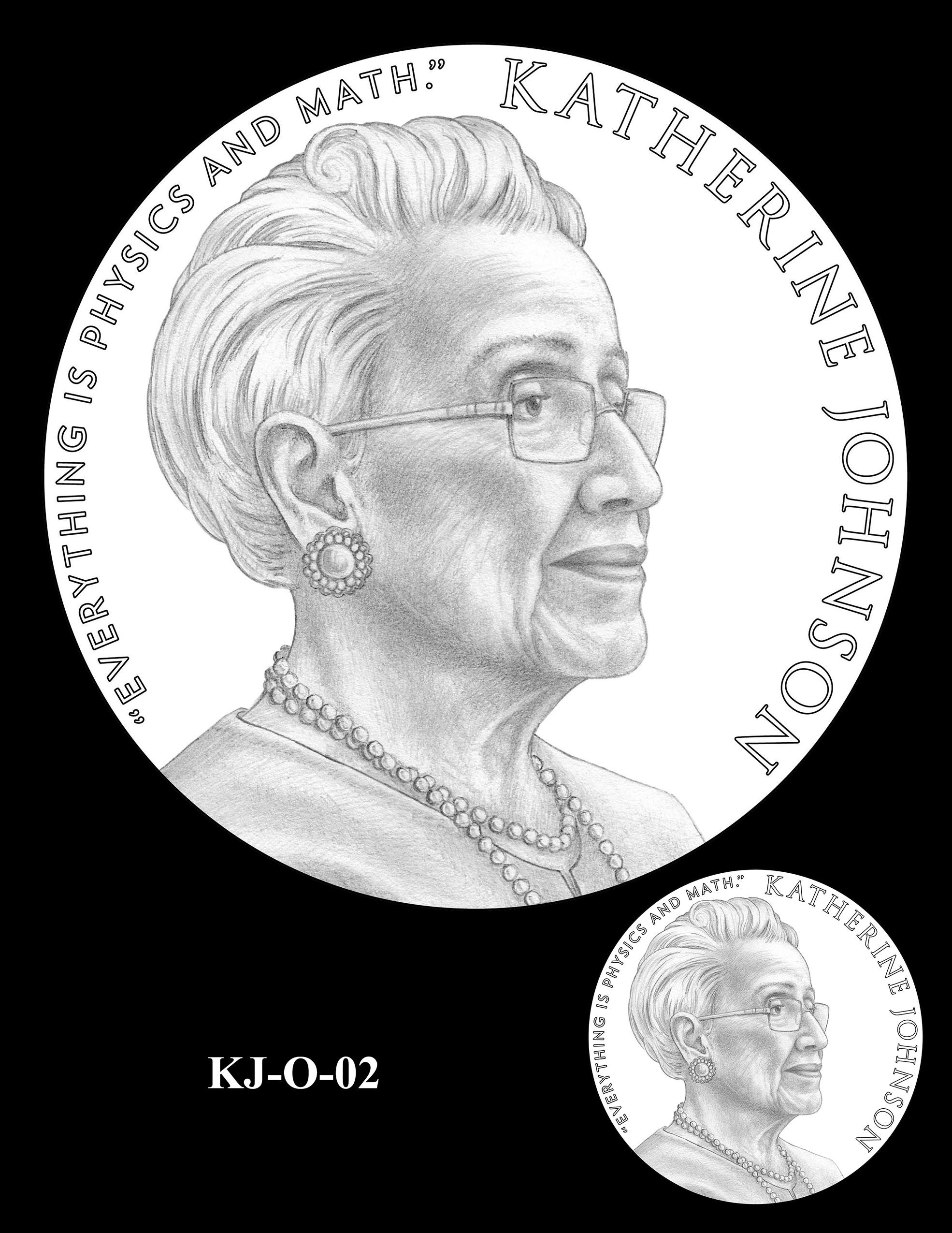 KJ-O-02 -- Katherine Johnson Congressional Gold Medal