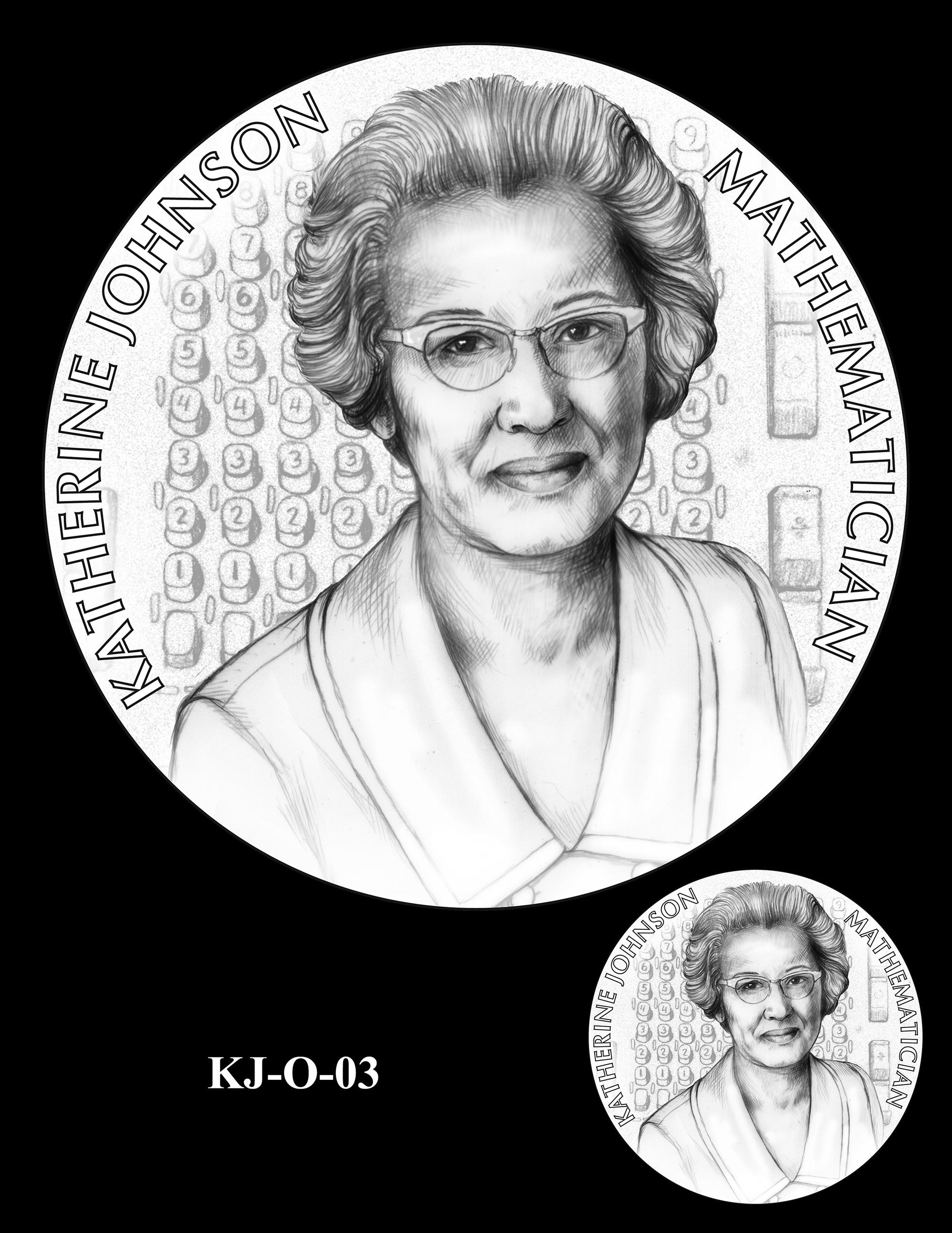 KJ-O-03 -- Katherine Johnson Congressional Gold Medal