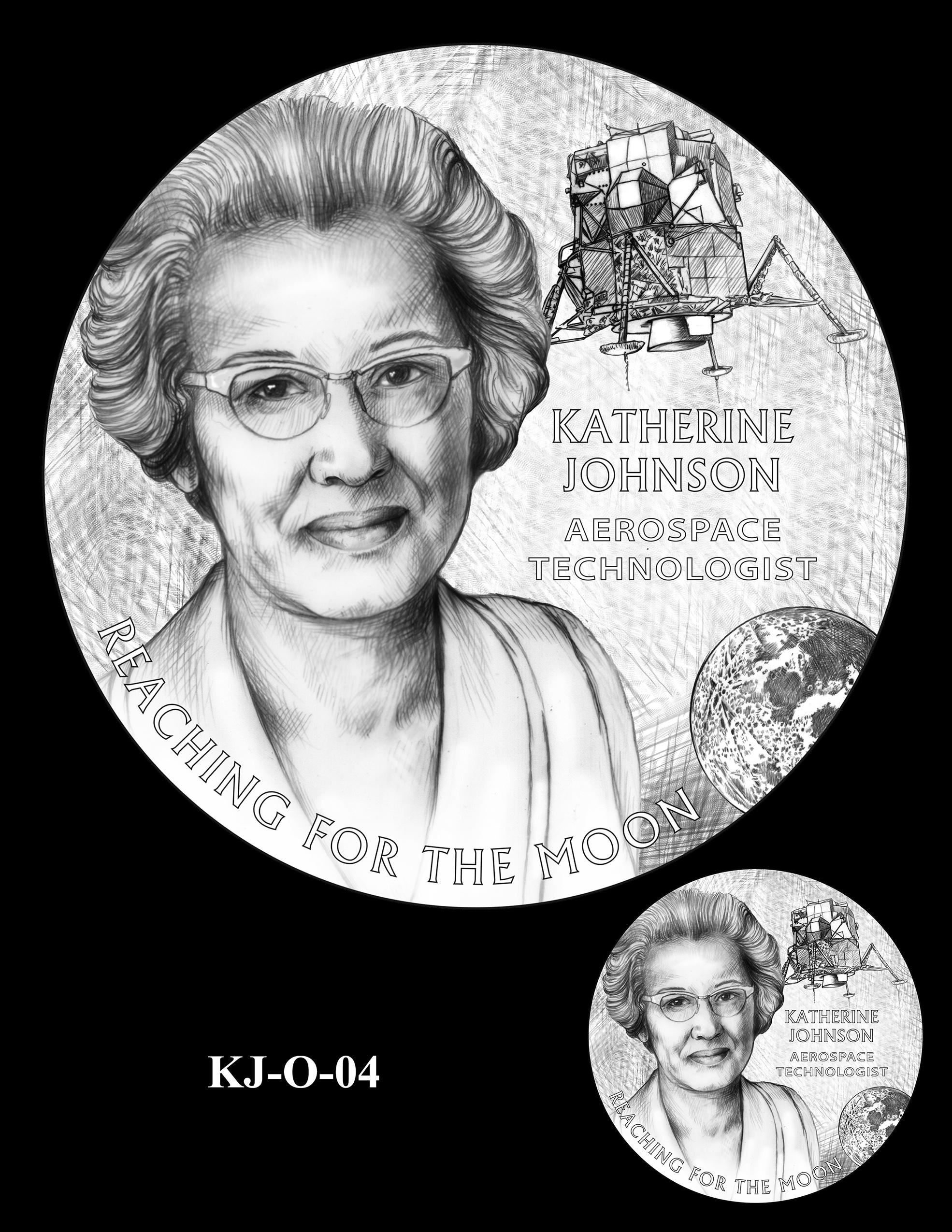 KJ-O-04 -- Katherine Johnson Congressional Gold Medal