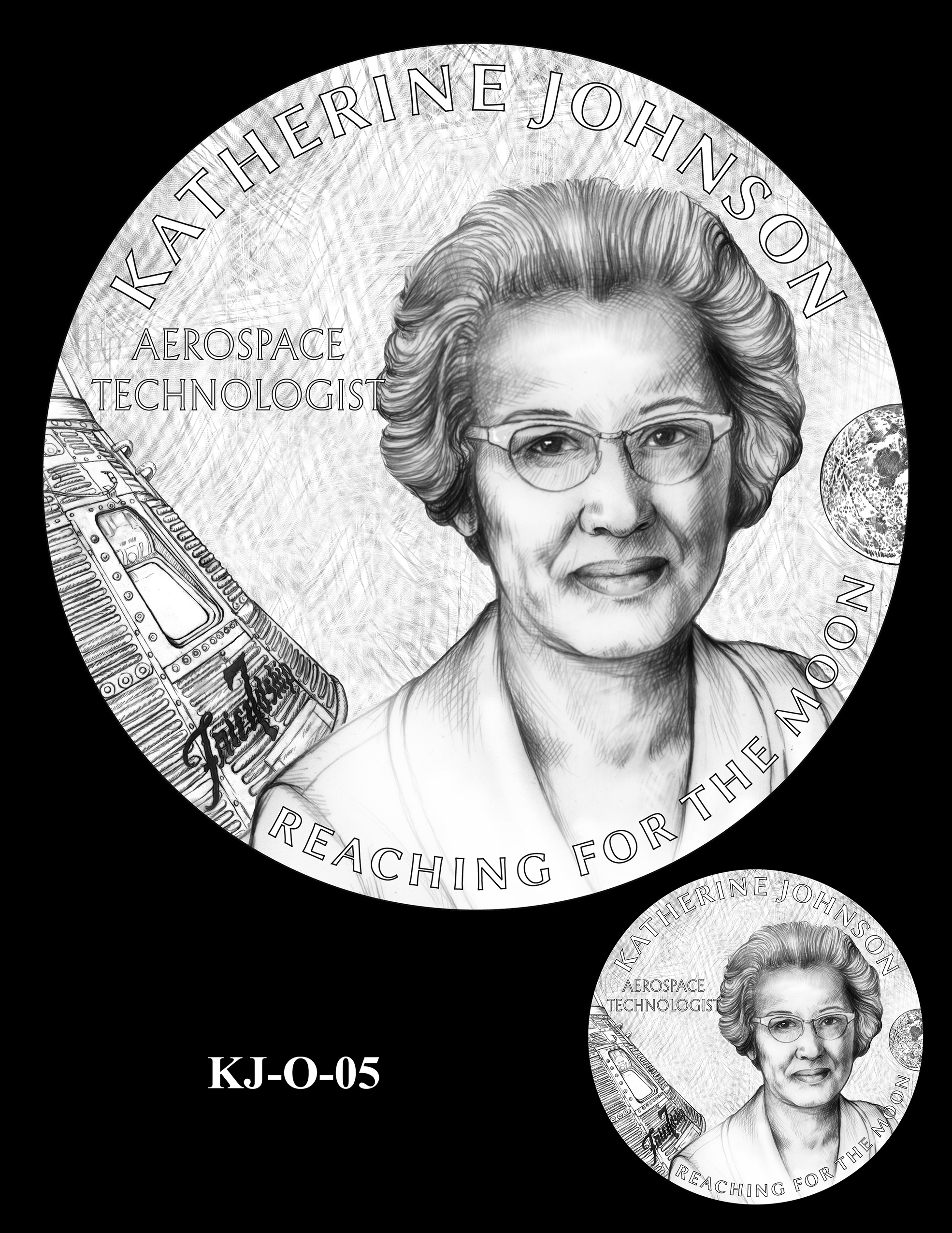 KJ-O-05 -- Katherine Johnson Congressional Gold Medal