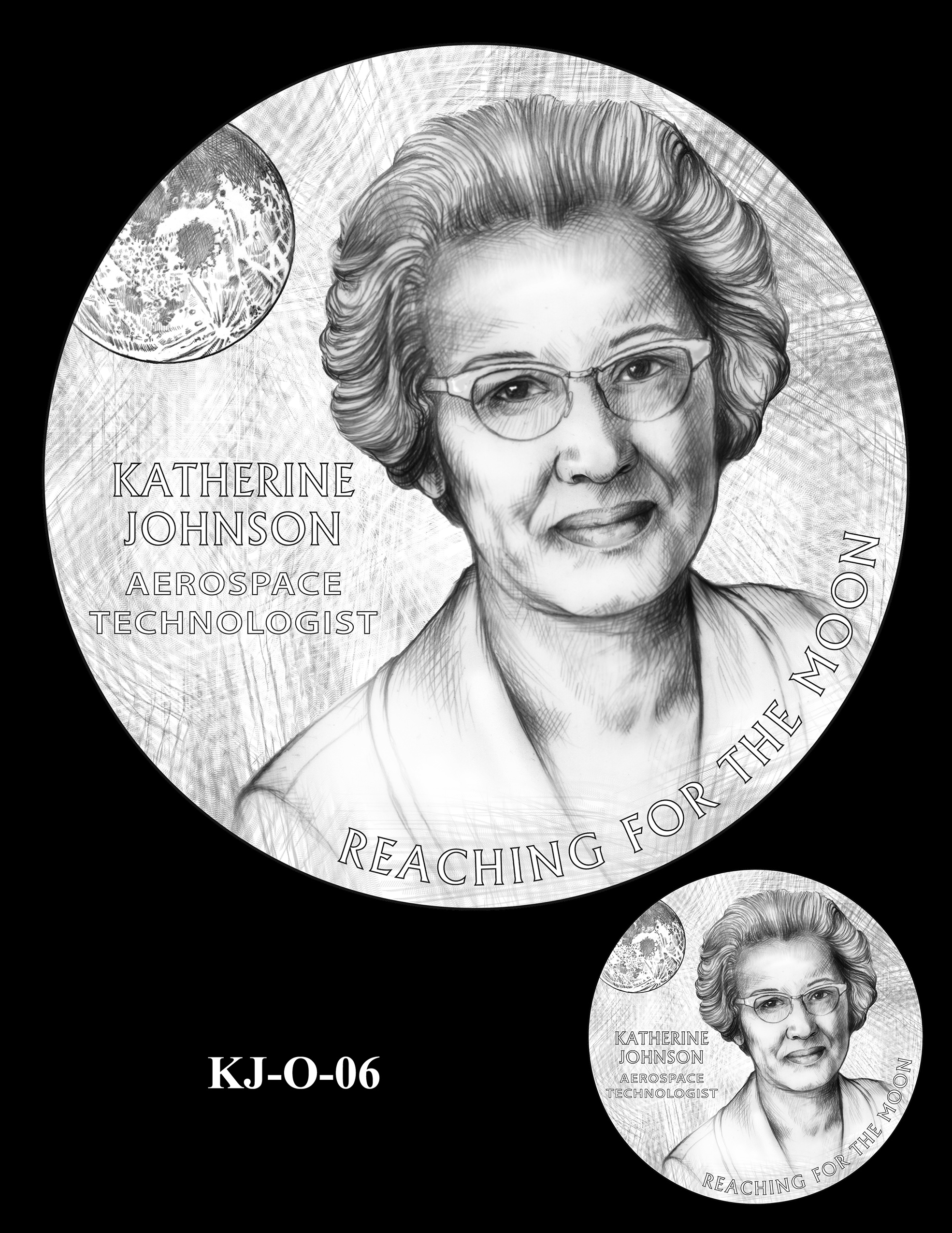 KJ-O-06 -- Katherine Johnson Congressional Gold Medal