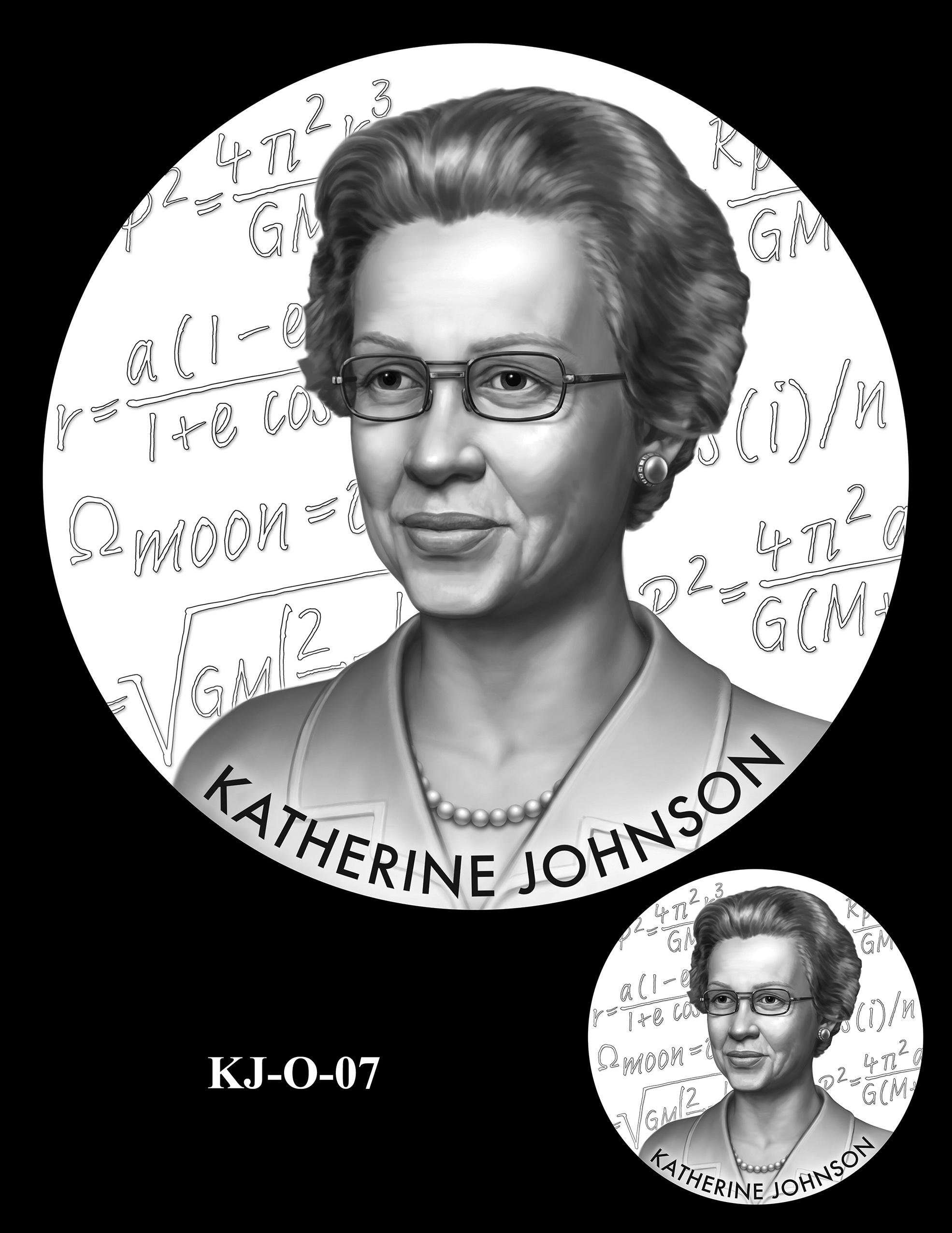 KJ-O-07 -- Katherine Johnson Congressional Gold Medal