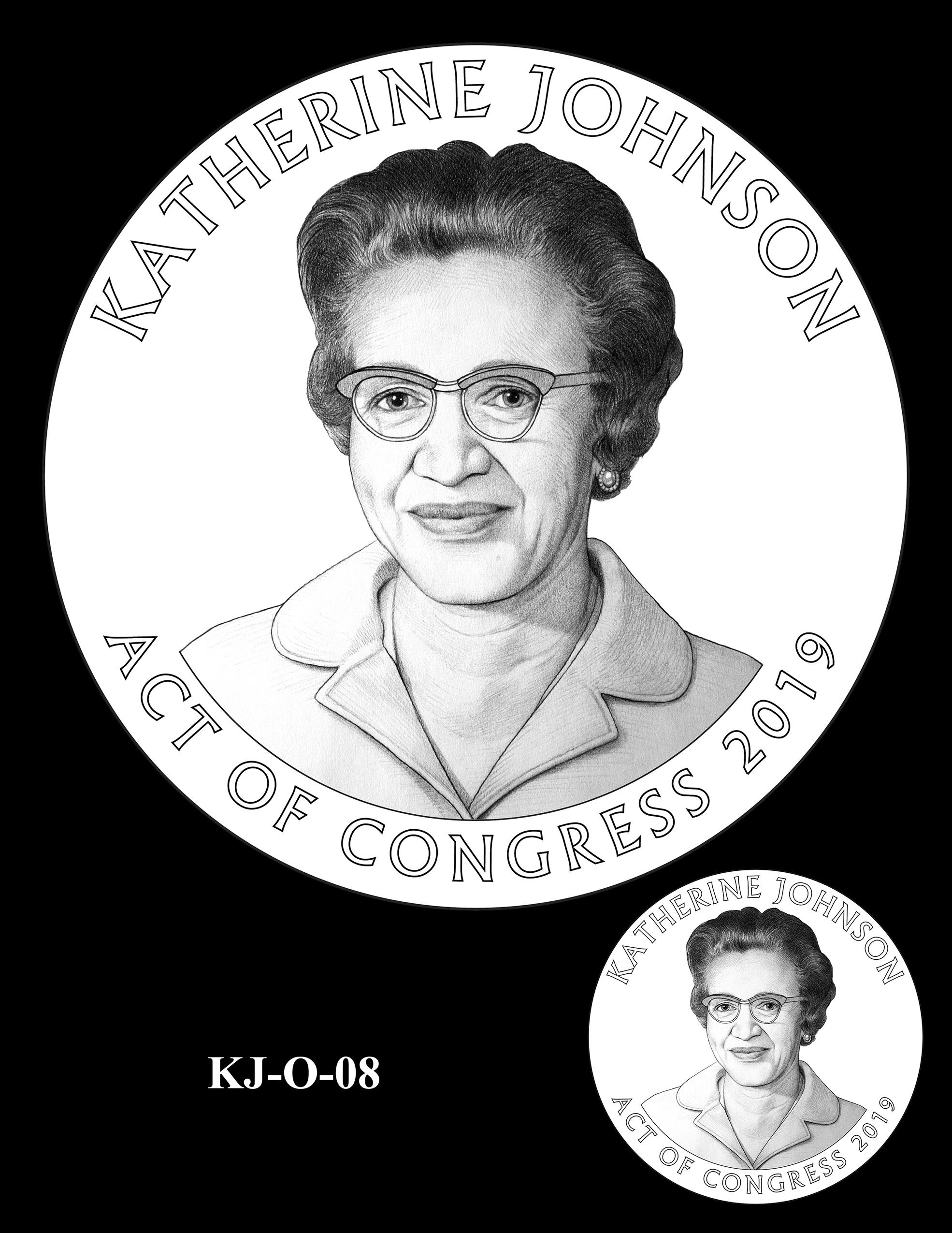 KJ-O-08 -- Katherine Johnson Congressional Gold Medal