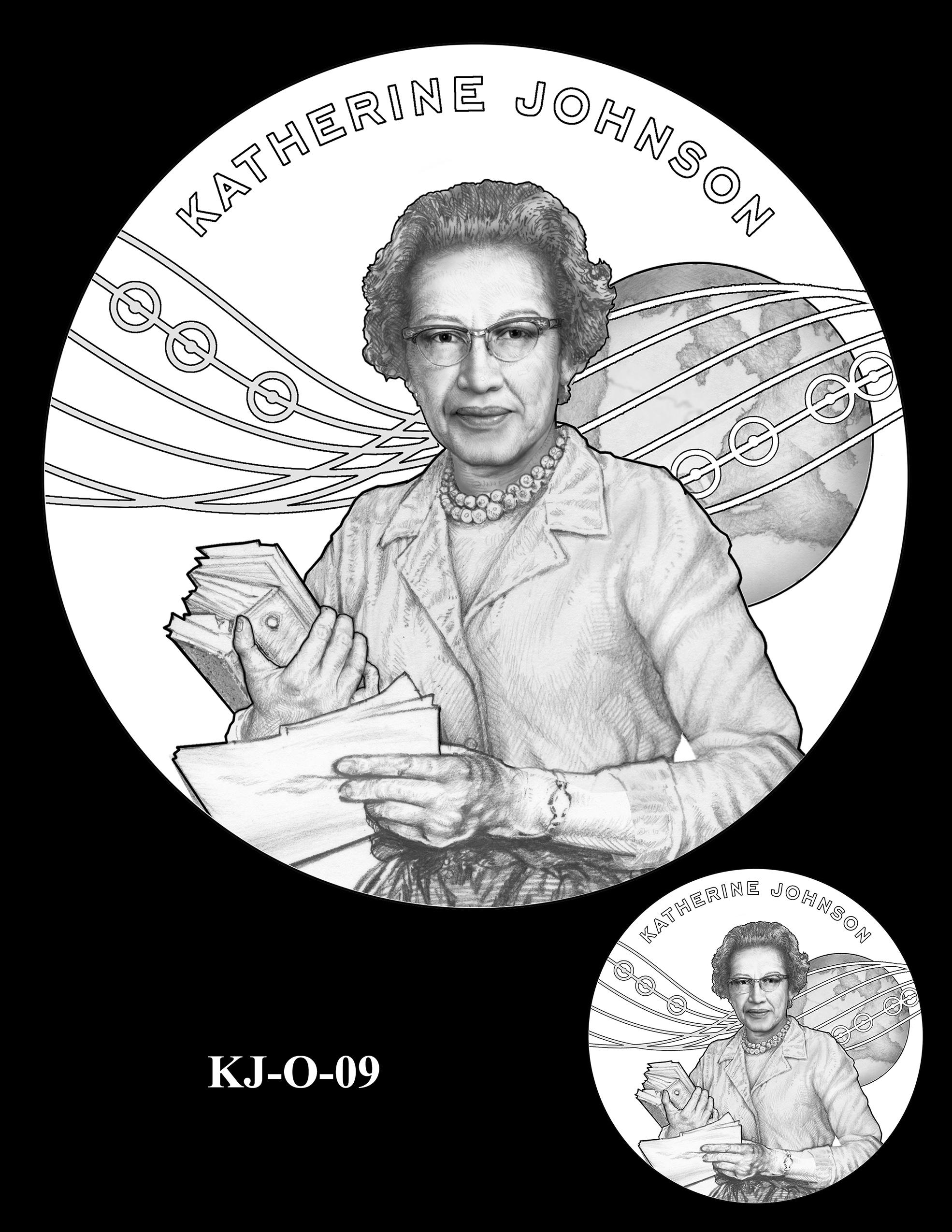KJ-O-09 -- Katherine Johnson Congressional Gold Medal