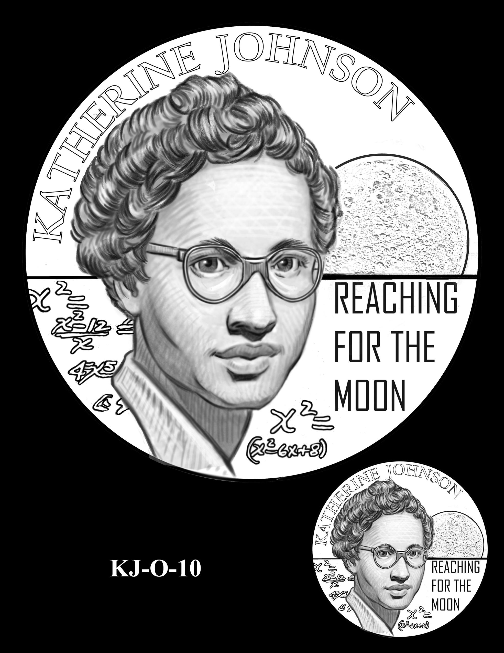 KJ-O-10 -- Katherine Johnson Congressional Gold Medal