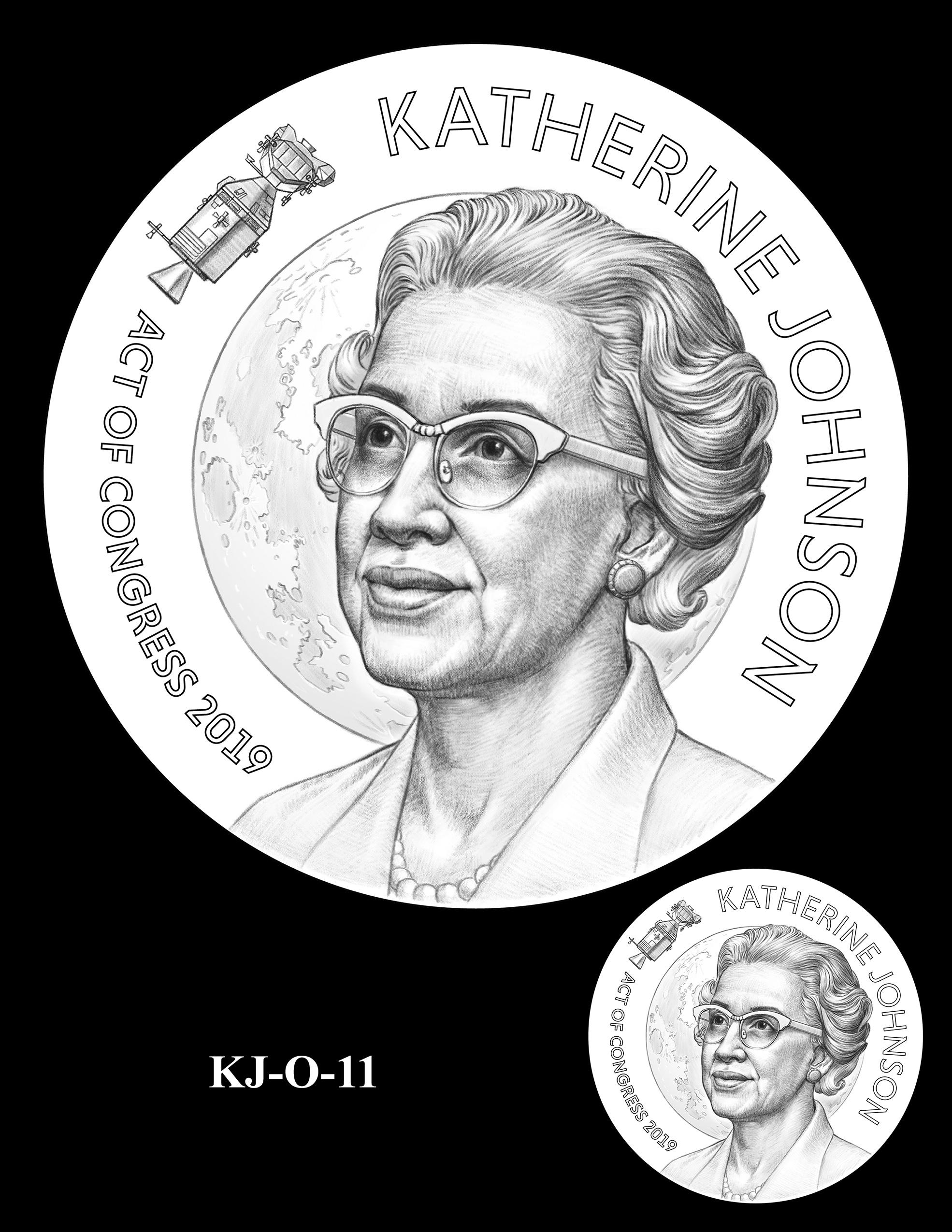 KJ-O-11 -- Katherine Johnson Congressional Gold Medal