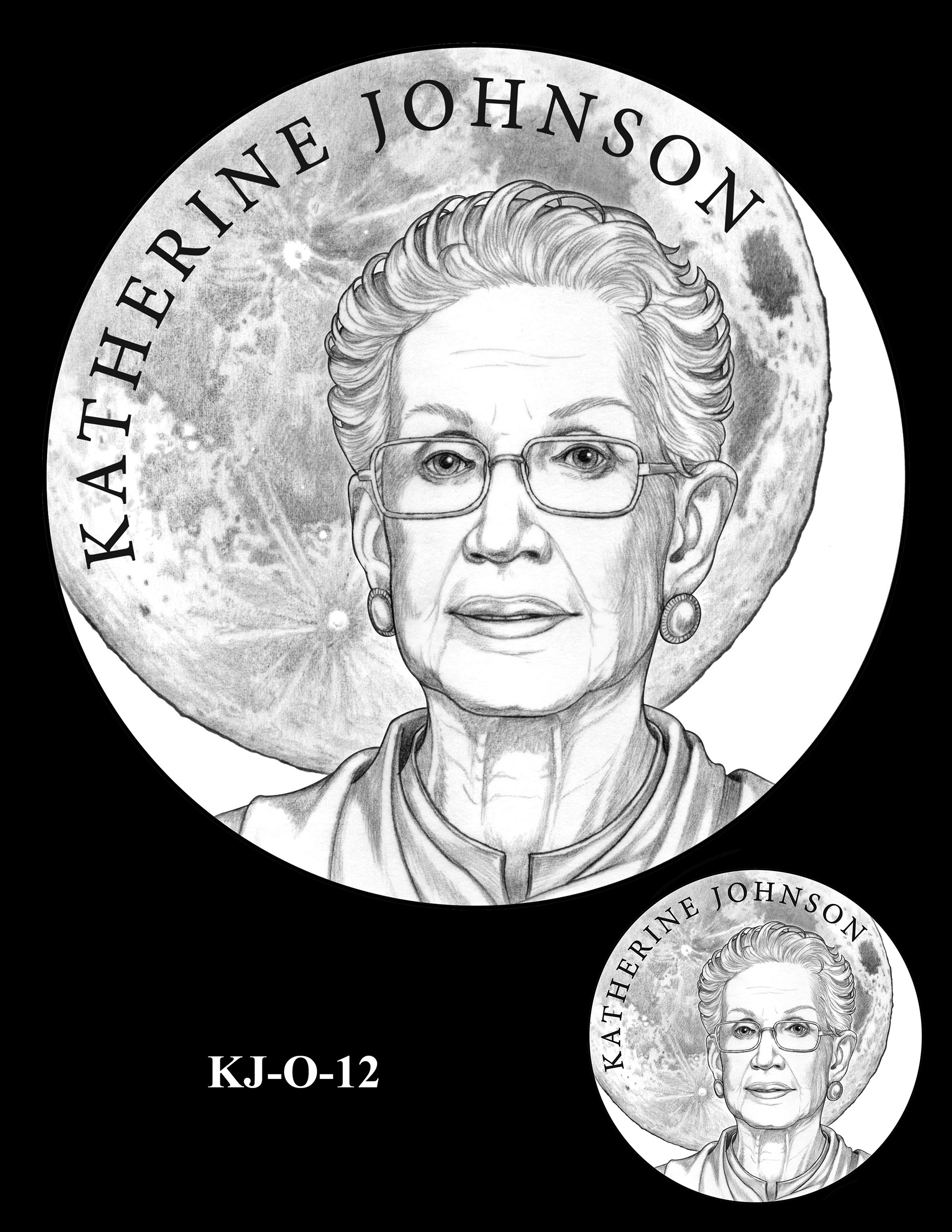KJ-O-12 -- Katherine Johnson Congressional Gold Medal