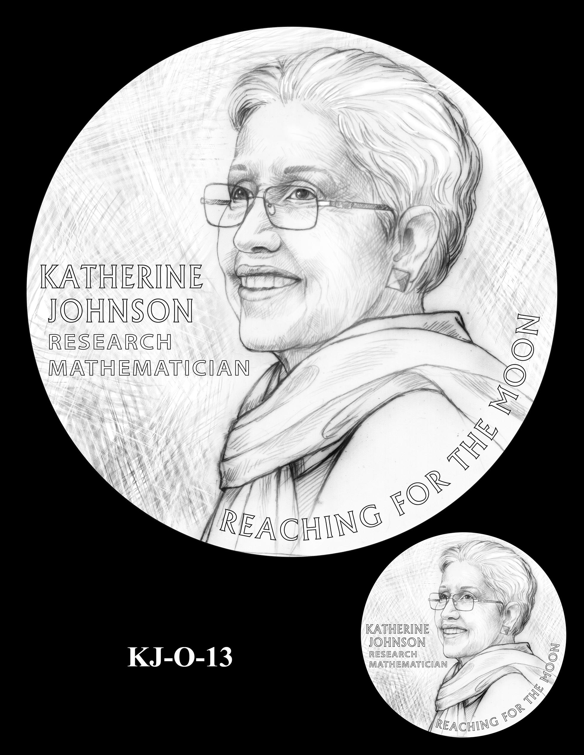 KJ-O-13 -- Katherine Johnson Congressional Gold Medal