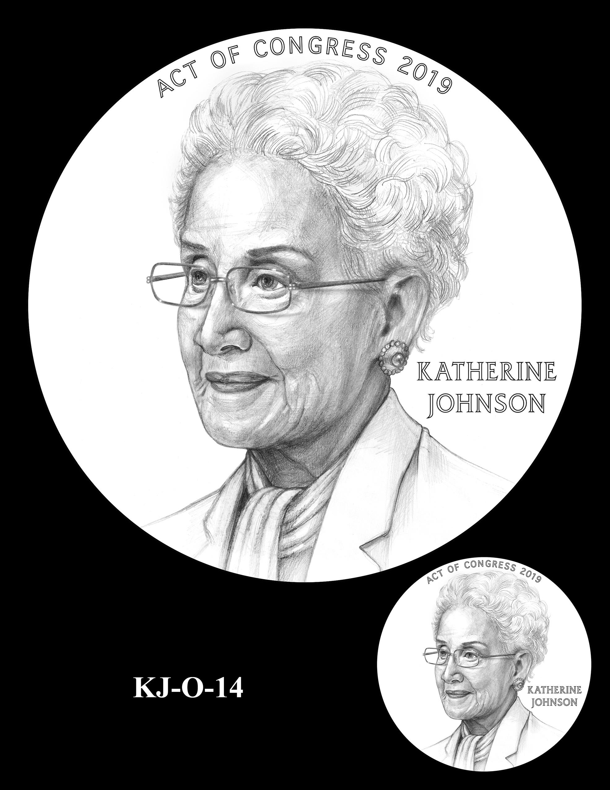 KJ-O-14 -- Katherine Johnson Congressional Gold Medal