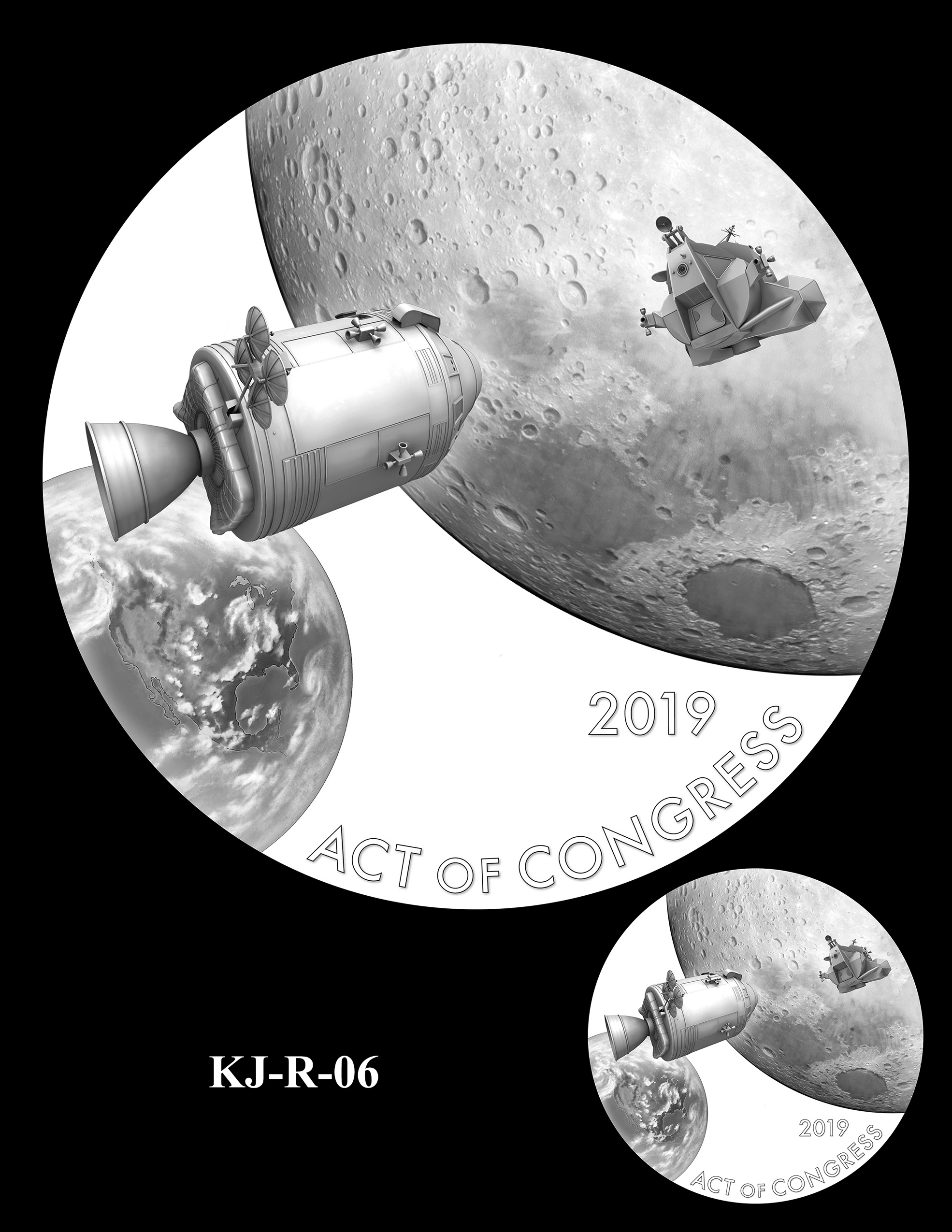 KJ-R-06 -- Katherine Johnson Congressional Gold Medal