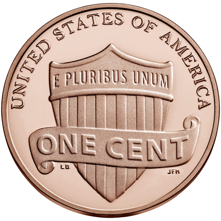 2021 Lincoln Penny Proof Reverse