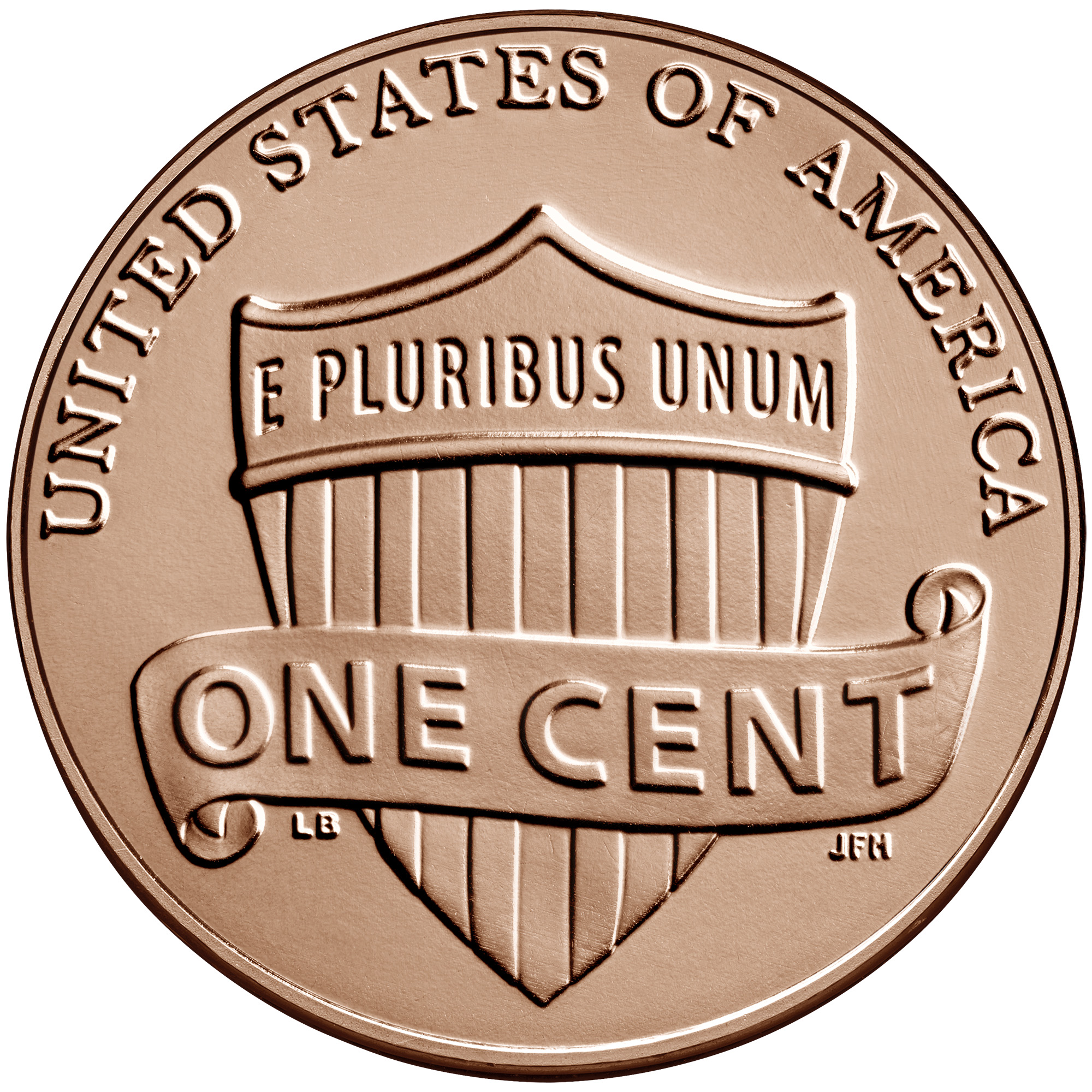 2021 Lincoln Penny Uncirculated Reverse