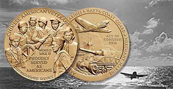 Chinese American Veterans of World War II Bronze Medal feature