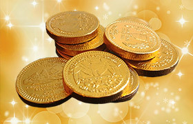 holiday coins feature