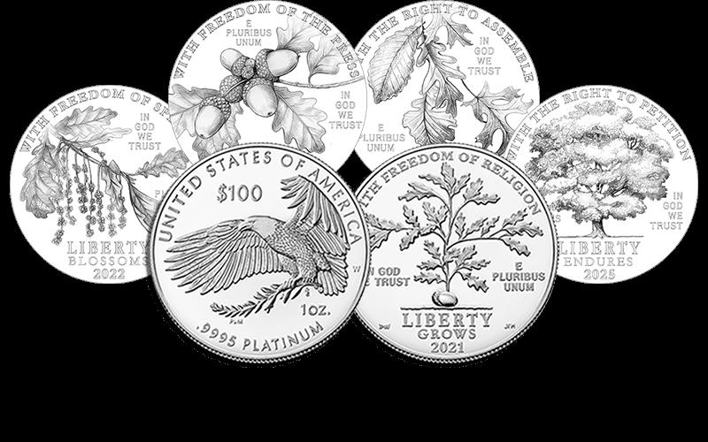 american eagle platinum series coins