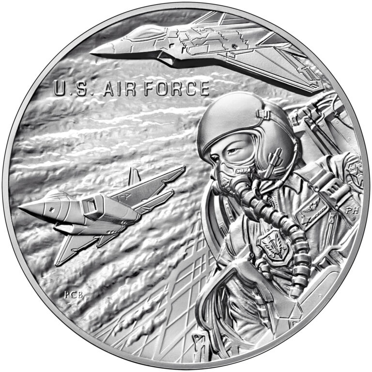 Armed Forces Silver Medal U.S. Air Force Obverse