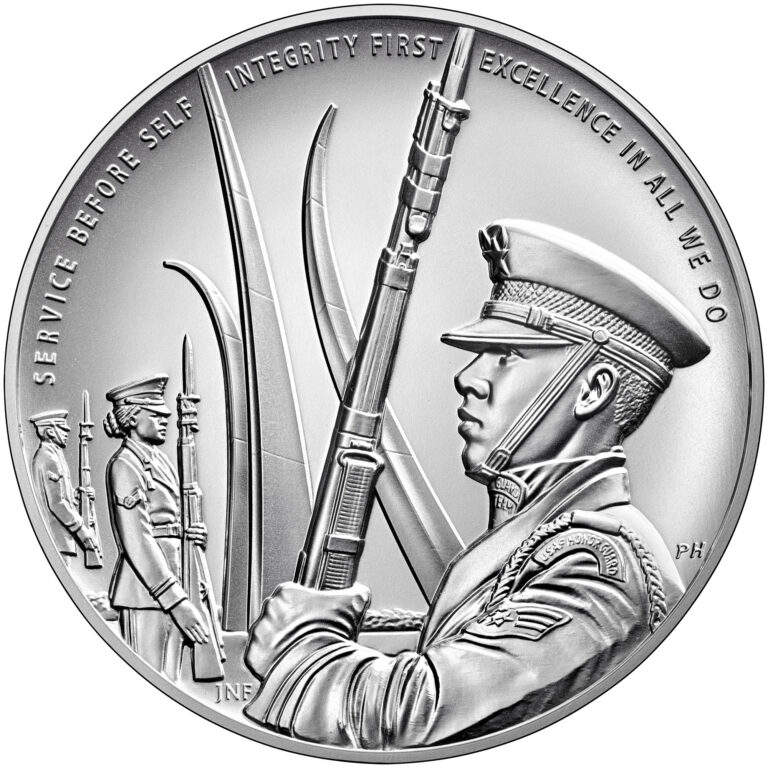 Armed Forces Silver Medal U.S. Air Force Reverse