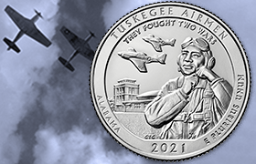 tuskegee airmen quarter feature