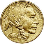 2021 American Buffalo Gold One Ounce Bullion Coin Obverse