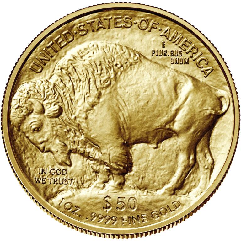 2021 American Buffalo Gold One Ounce Bullion Coin Reverse