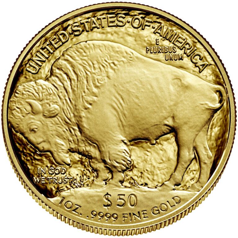 2021 American Buffalo One Ounce Gold Proof Coin Reverse