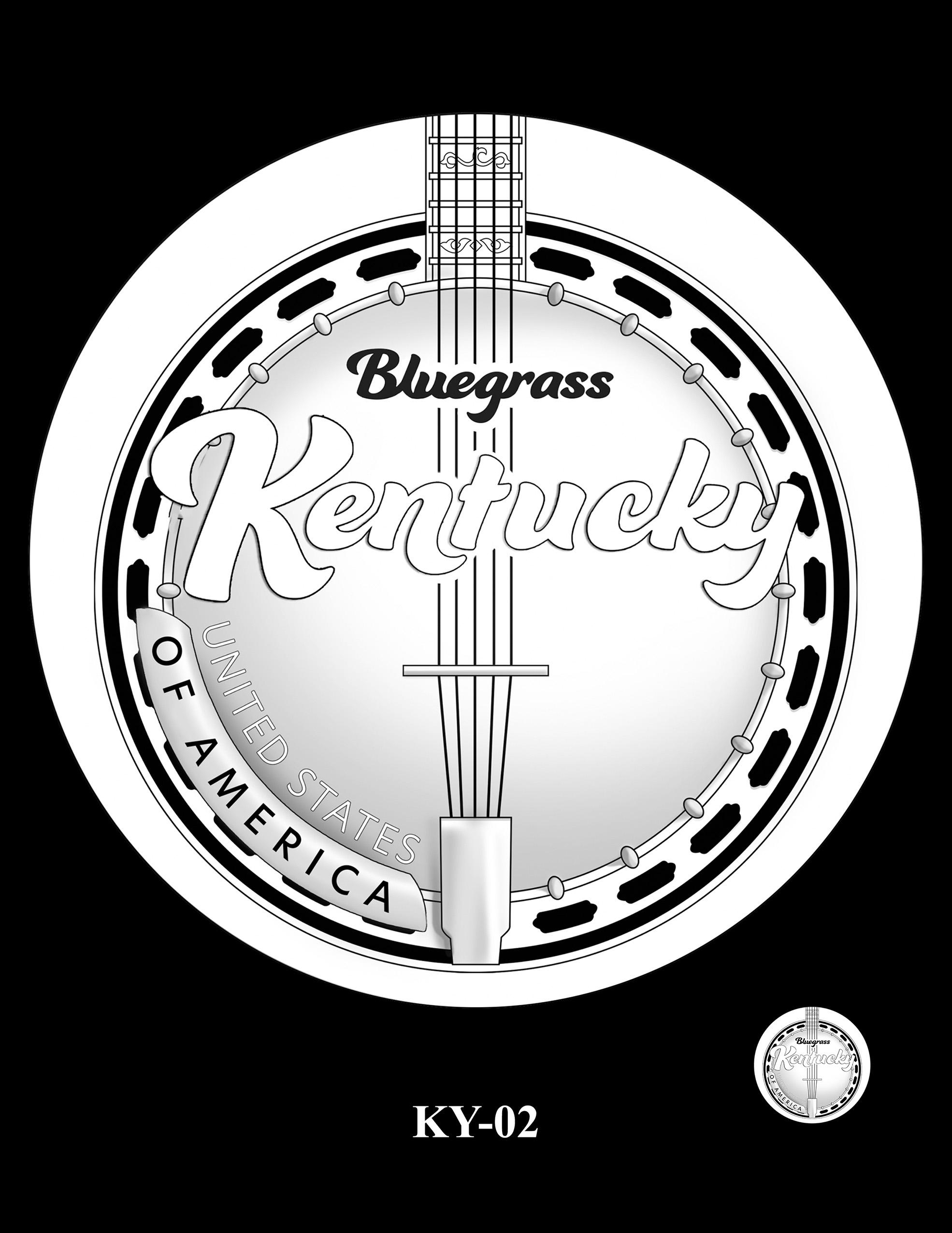 KY-02 -- 2022 American Innovation $1 Coin - Kentucky