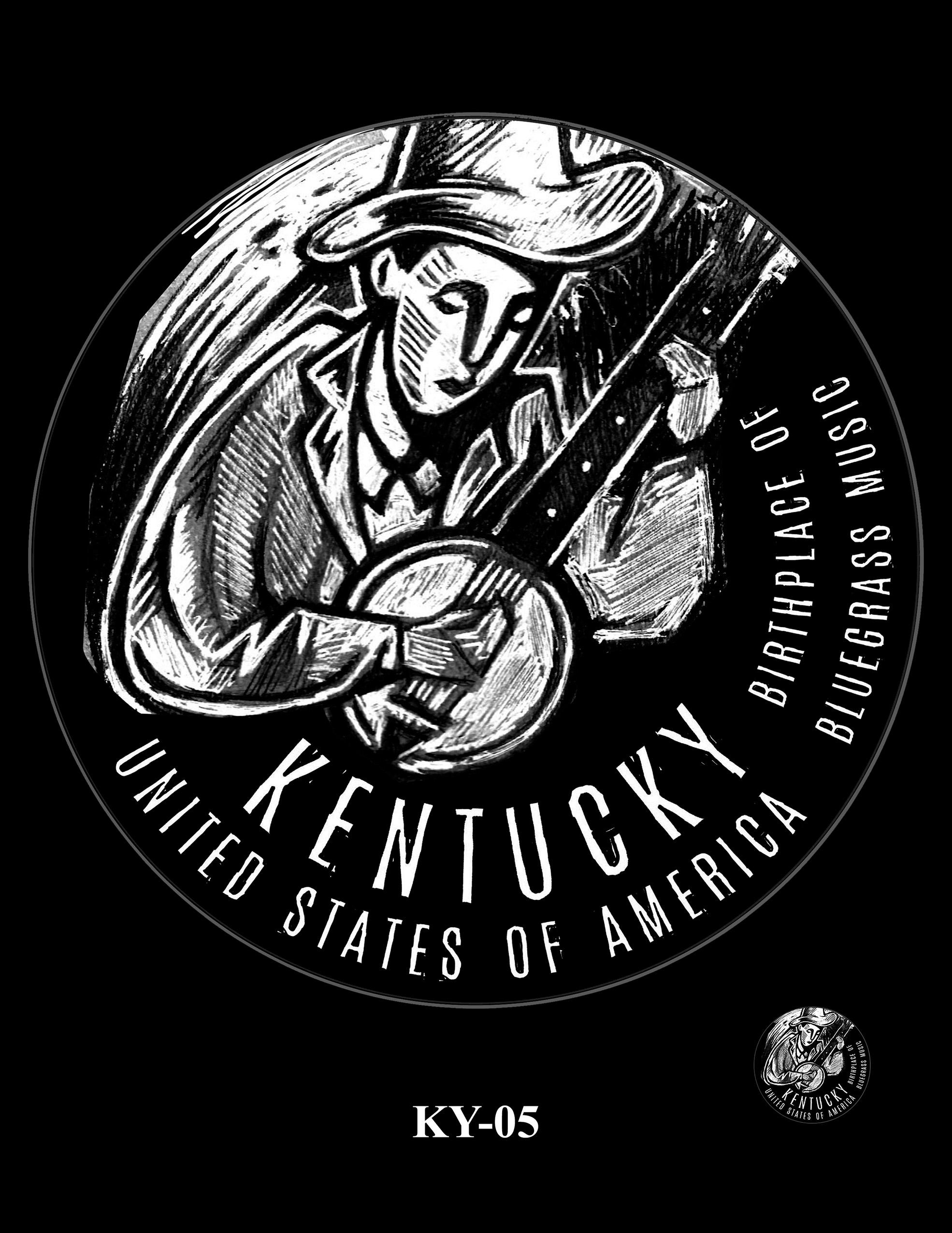KY-05 -- 2022 American Innovation $1 Coin - Kentucky