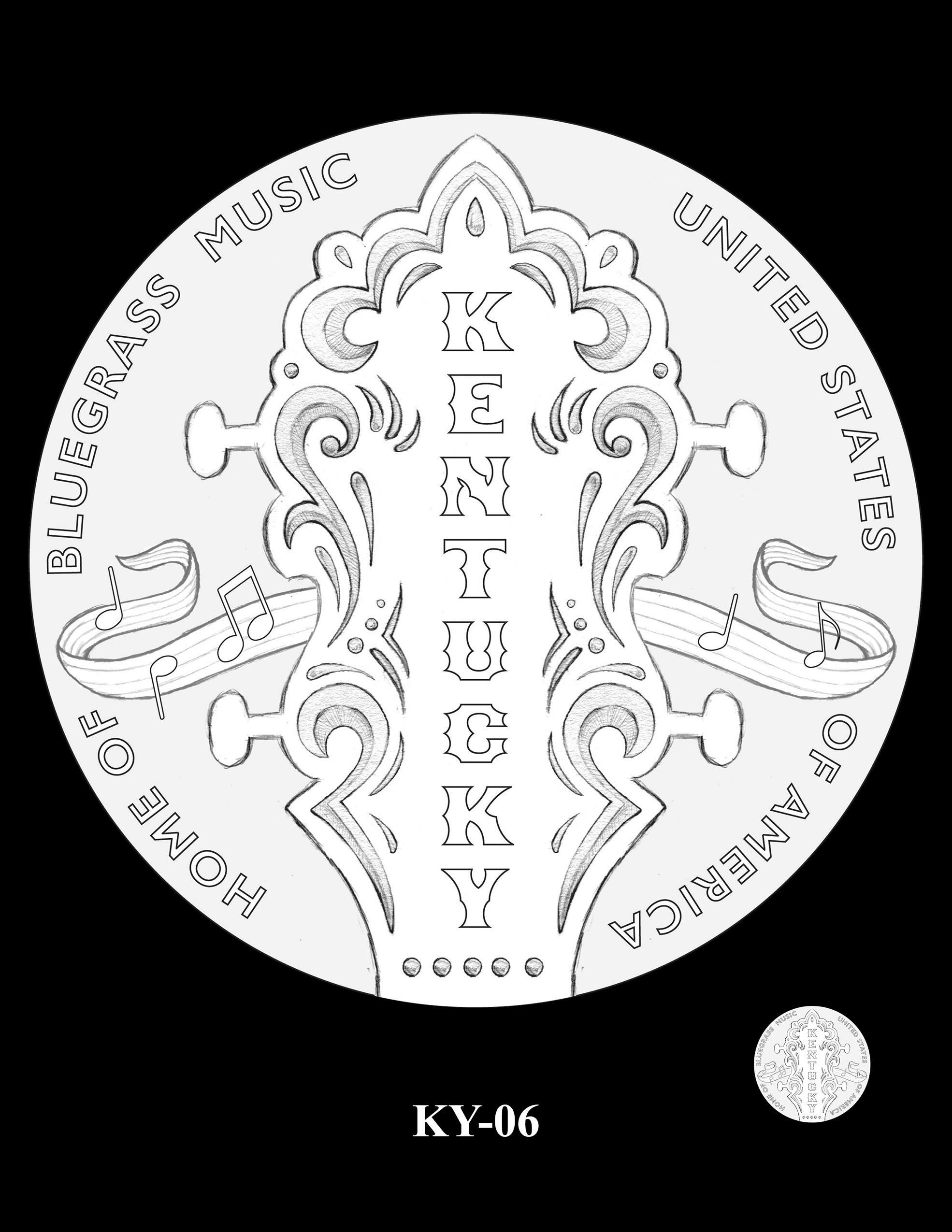 KY-06 -- 2022 American Innovation $1 Coin - Kentucky