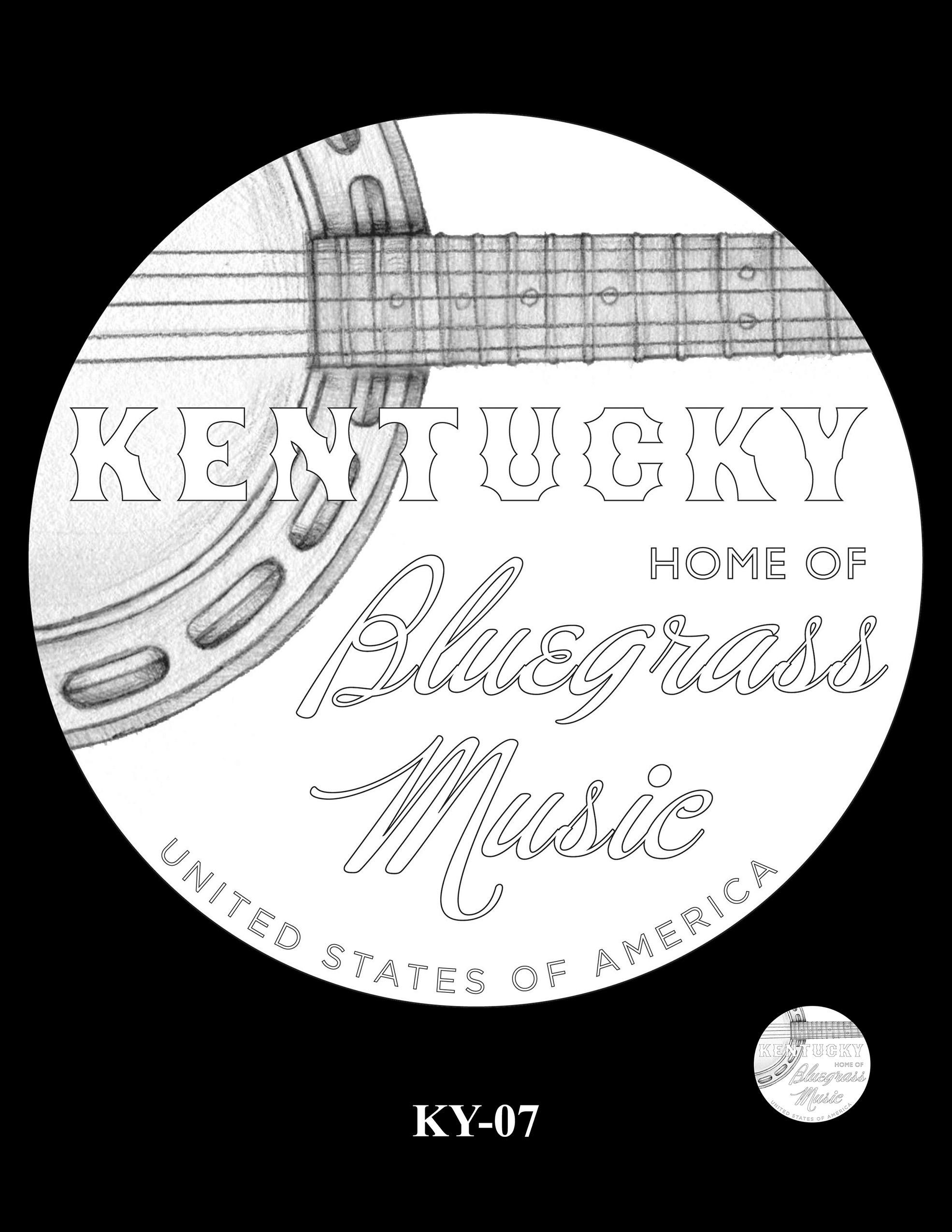 KY-07 -- 2022 American Innovation $1 Coin - Kentucky