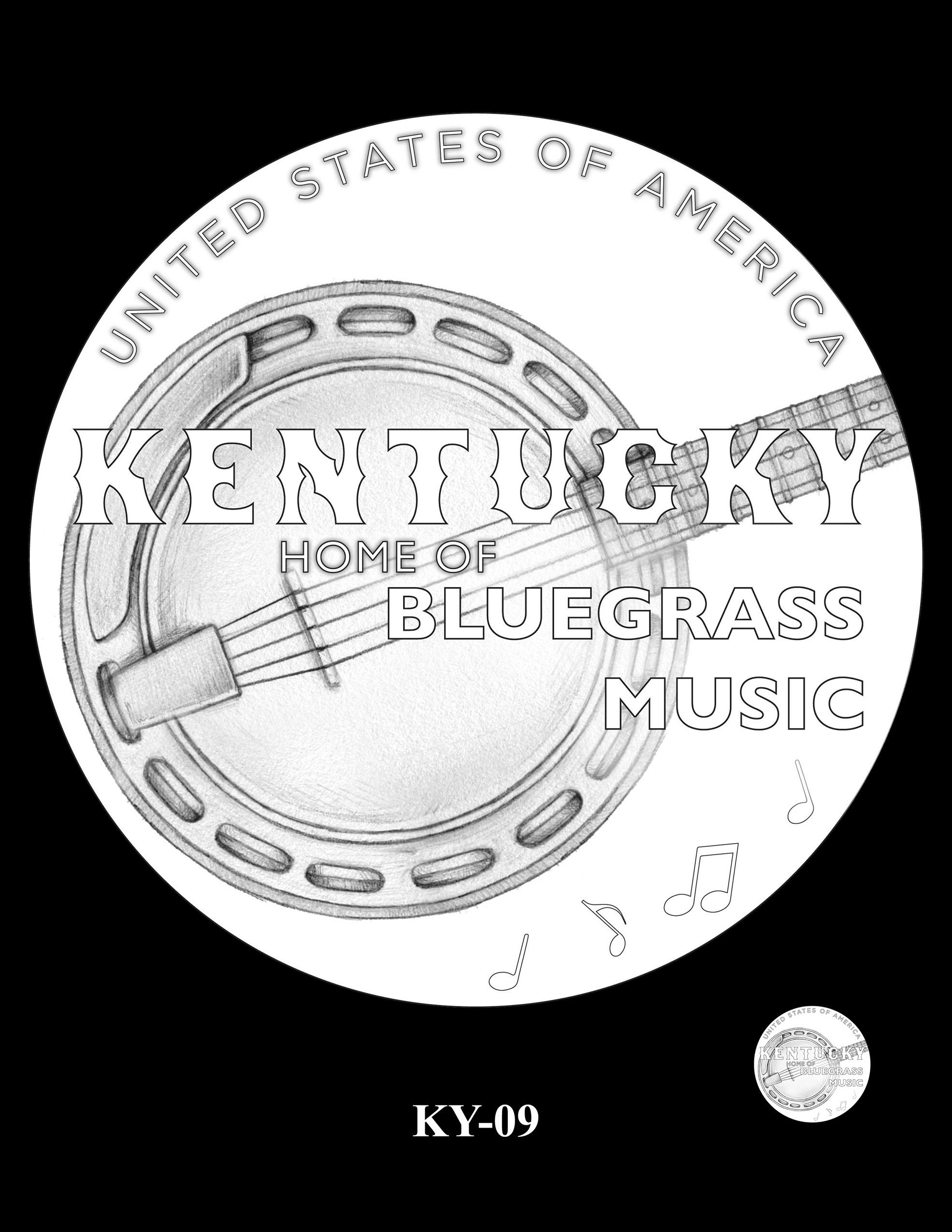 KY-09 -- 2022 American Innovation $1 Coin - Kentucky