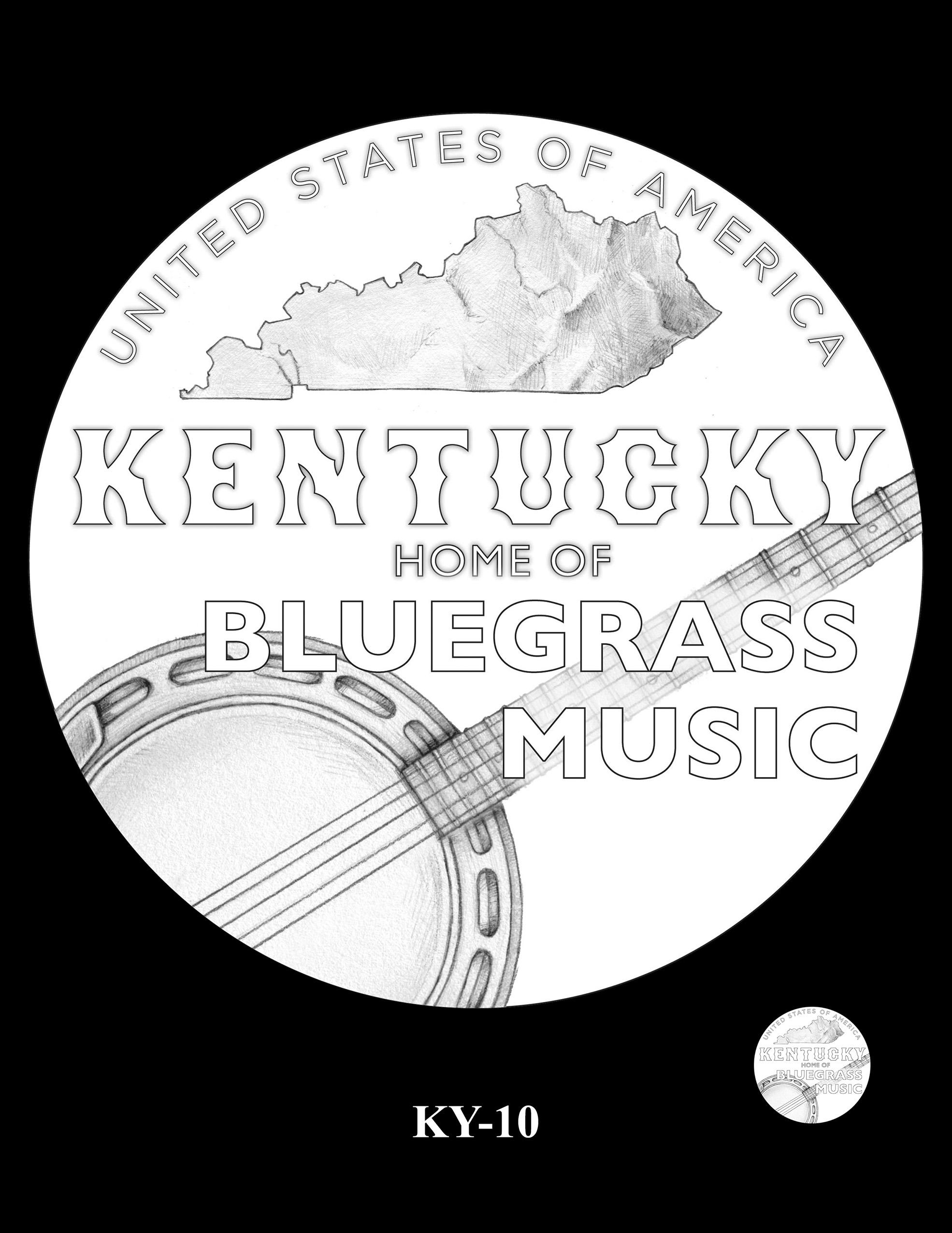 KY-10 -- 2022 American Innovation $1 Coin - Kentucky