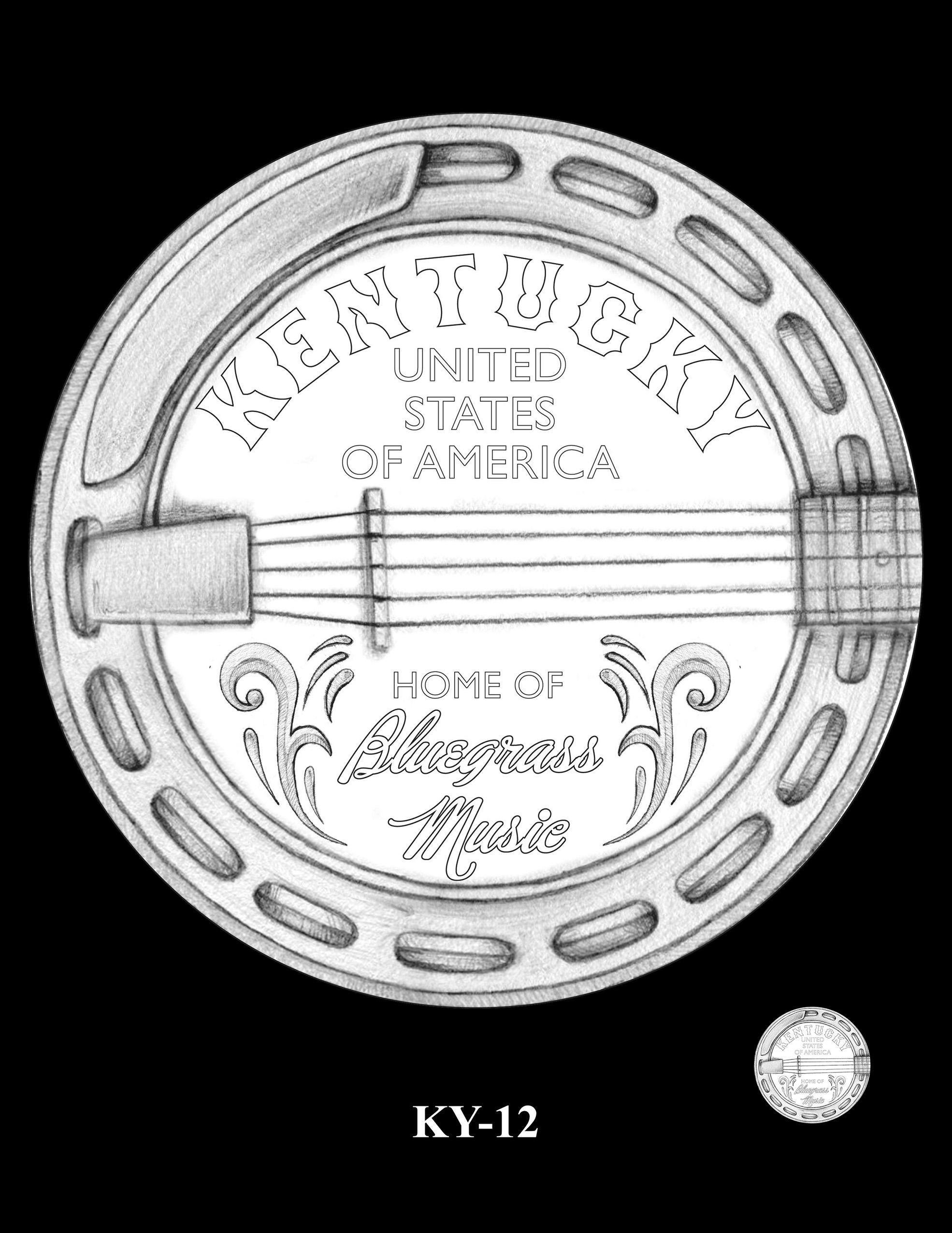 KY-12 -- 2022 American Innovation $1 Coin - Kentucky